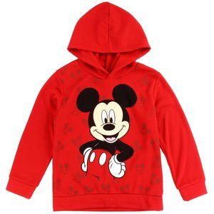Disney RED! MICKEY MOUSE Boys Fleece Hoodie